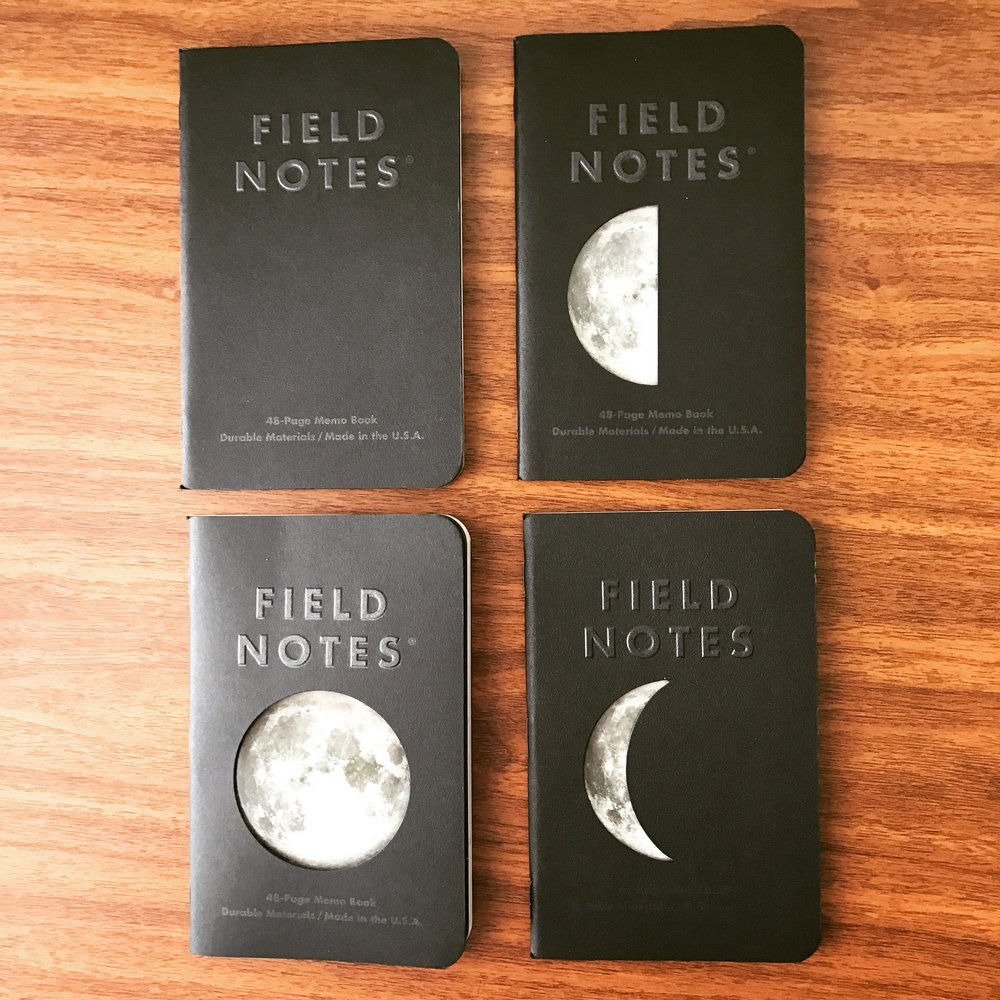 Field Notes subscribers received two  four -packs of the Lunacy edition, adding to the value of your subscription. The all-black notebook is subscriber-exclusive. More of my thoughts on this below.