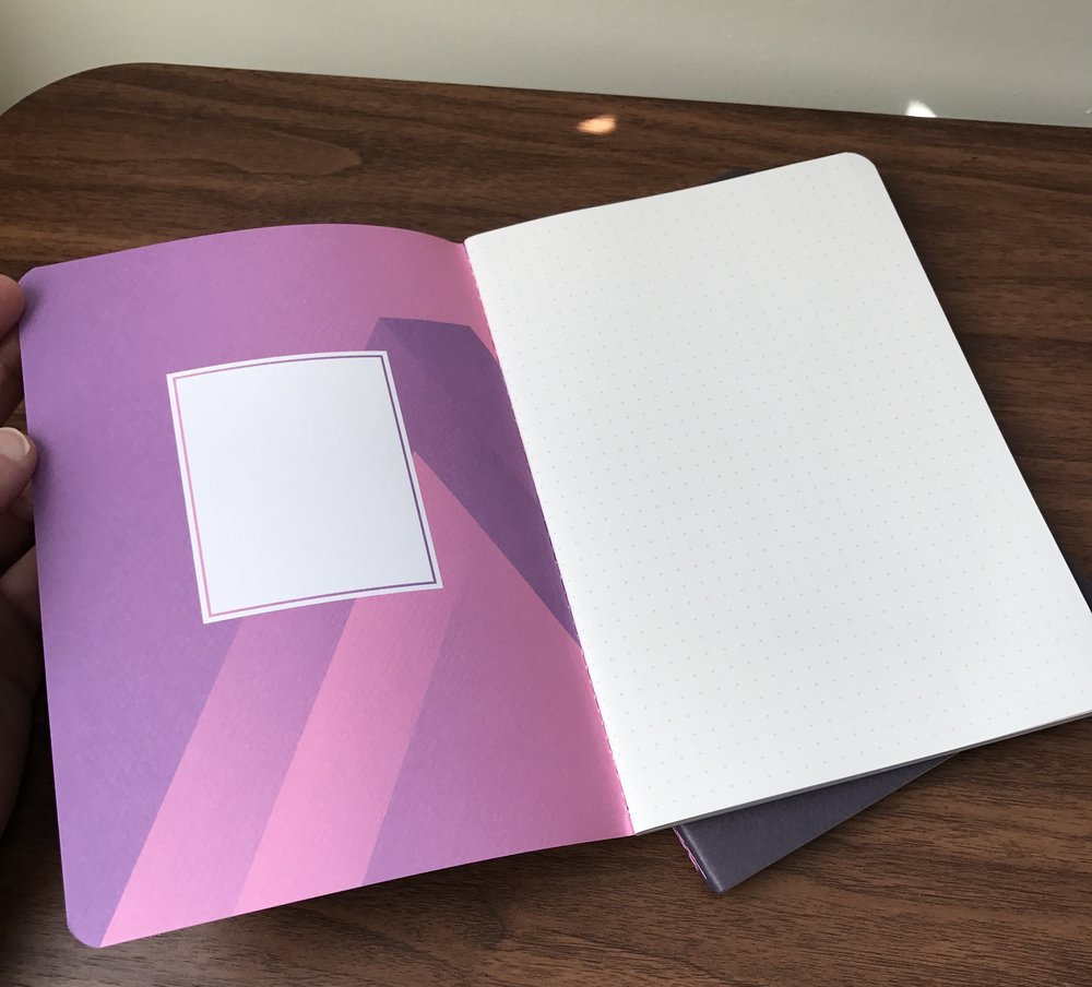 All three notebooks feature Baron Fig's dot-grid paper.