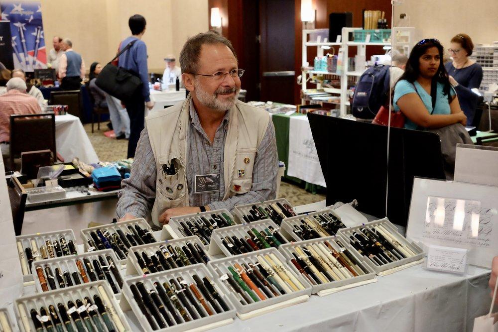 John Corwin and His Flex Pens