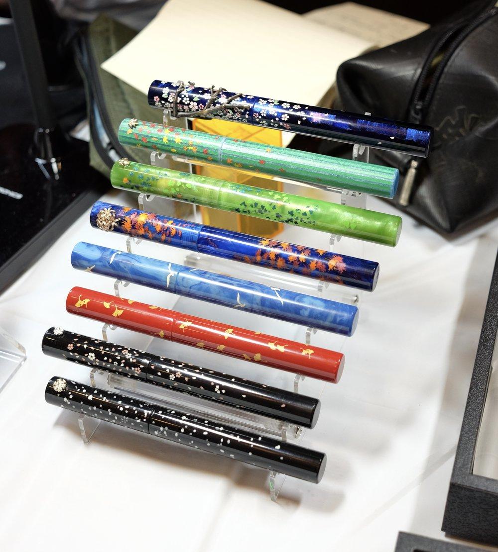Custom Pens from Yoshi Nakama