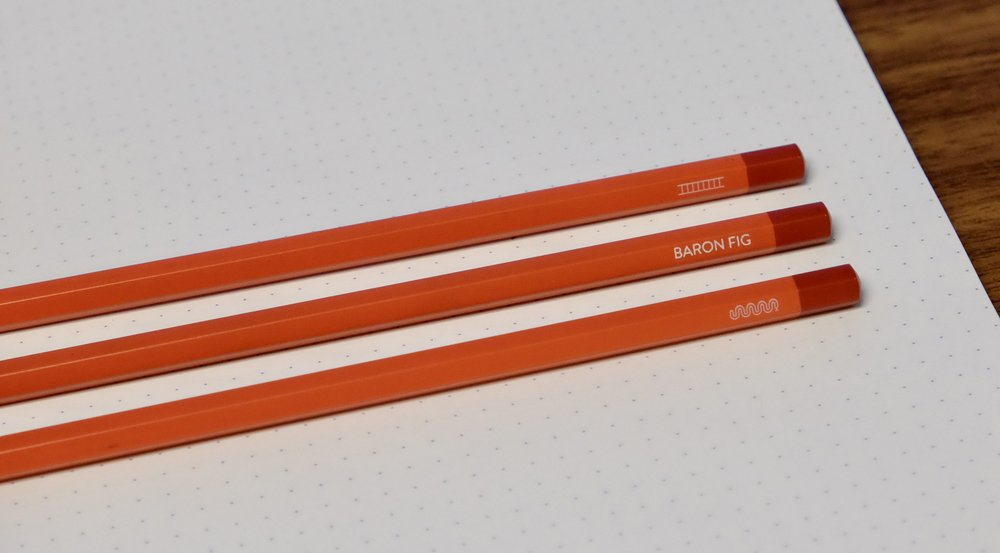 I enjoy the understated details on Baron Fig products, like the small snake and ladder etched on each pencil.