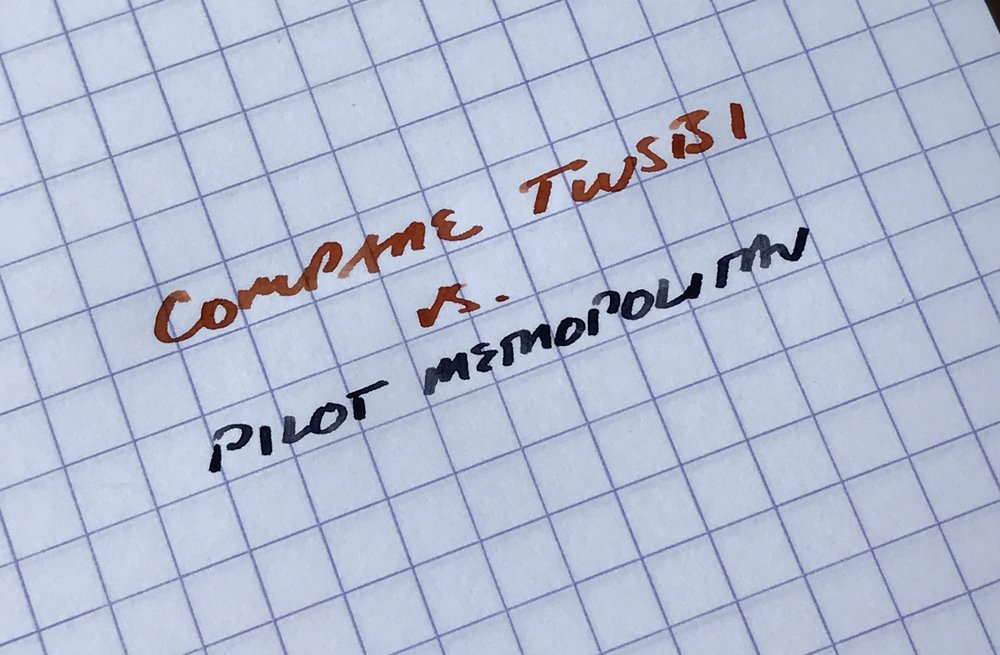 TWSBI - Pilot Stub Comparison