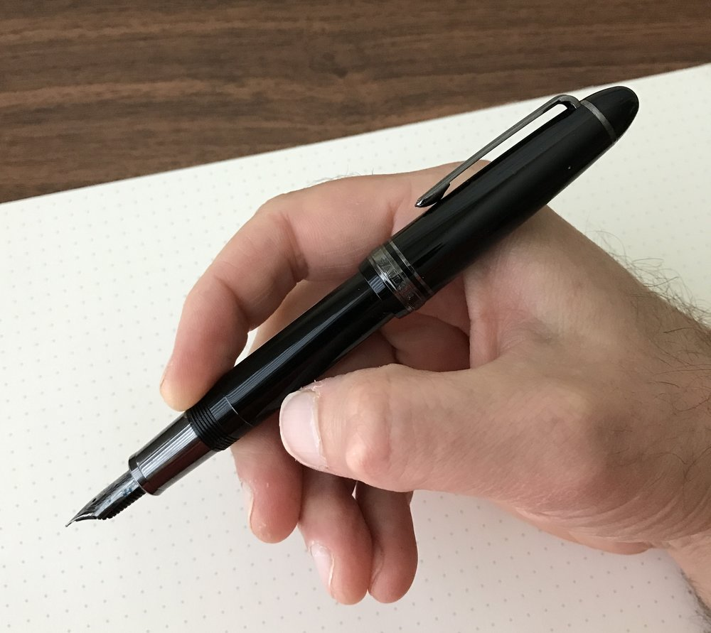 Sailor 1911 Black Luster Posted