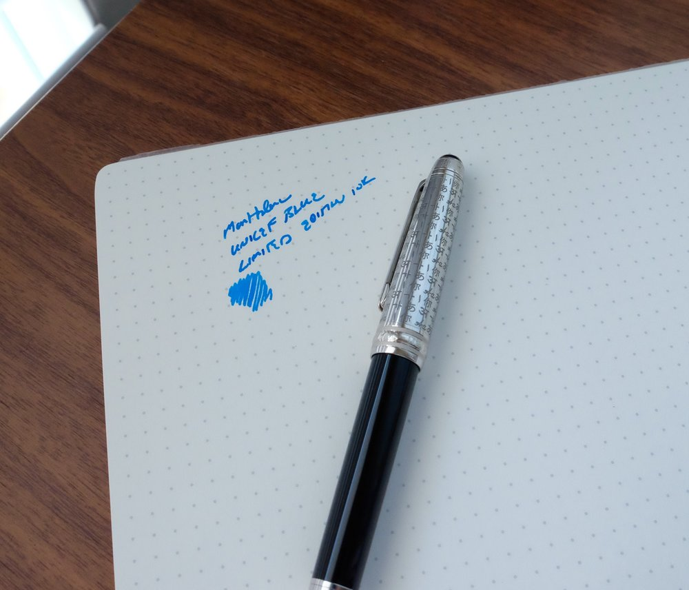 Montblanc-For-UNICEF-Turquoise-Ink-Limited-Edition