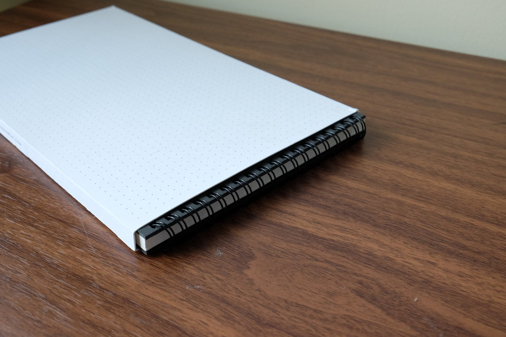 The Panobook comes with a slipcover for easy storage after the notebook is finished.