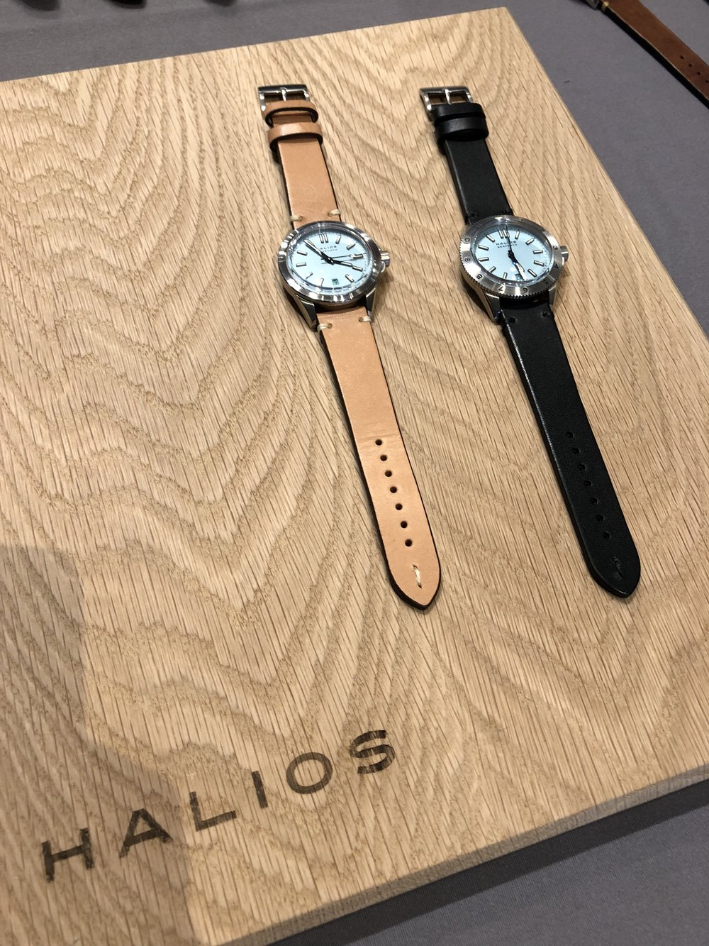 Halios Watches with Light Blue Faces