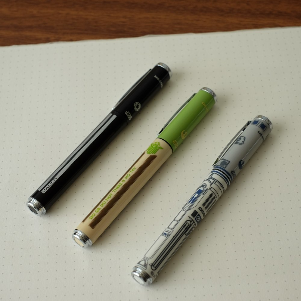 Sheaffer-Star-Wars-Fountain-Pen-Rollerballs