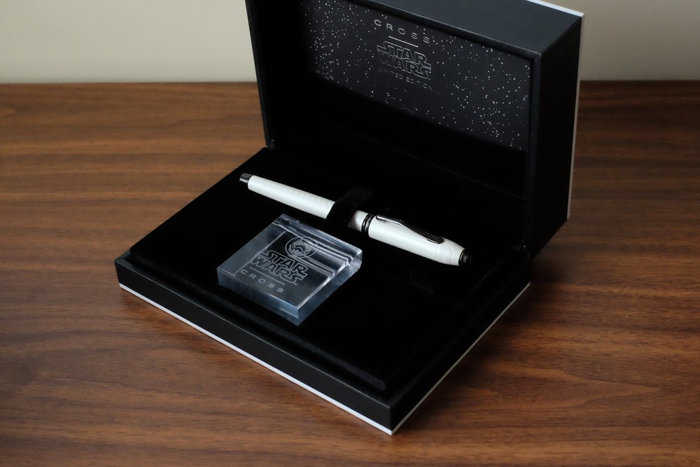 Cross Townsend in packaging