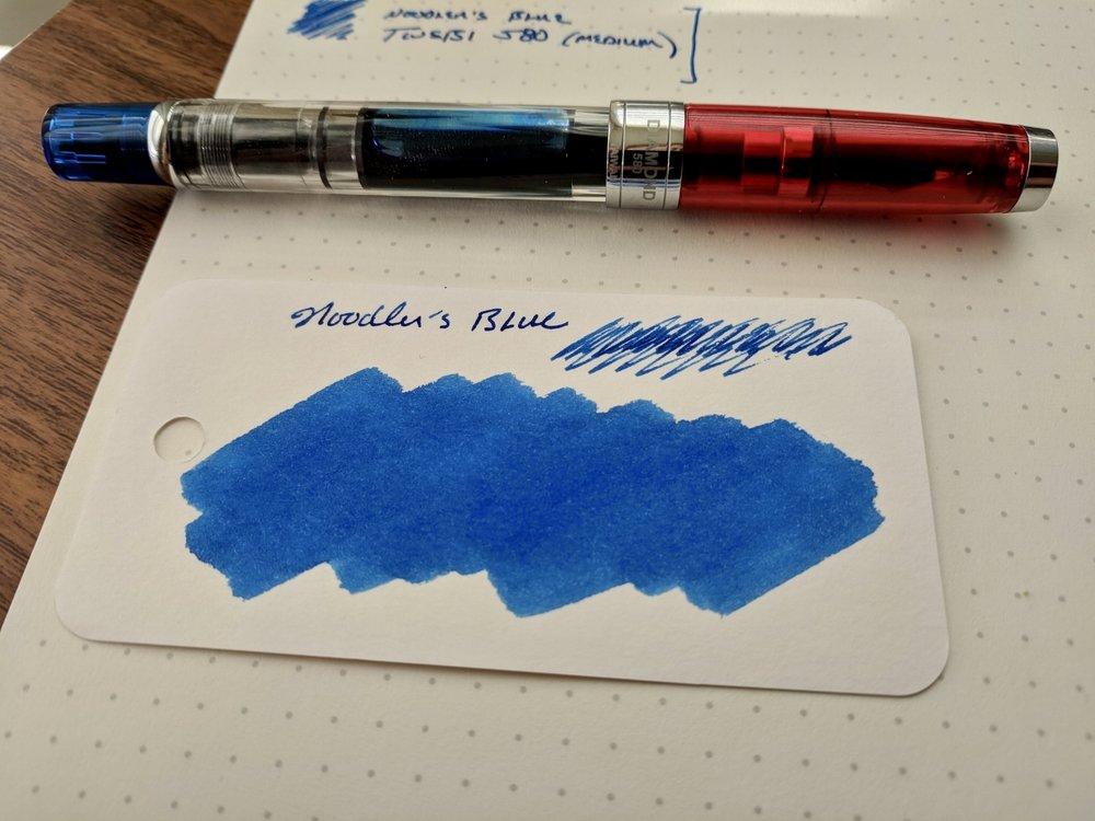 Noodler's-Blue-Ink-Review-TWSBI