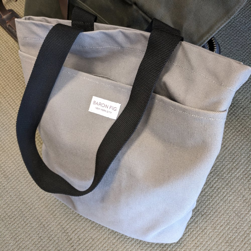 In other news from this week, Baron Fig shipped their Kickstarter rewards for their  bag project , prompting much conversation about things like color changes and price drops. Personally, I've enjoyed my Tote, but I'm looking forward to reading everyone's reactions.