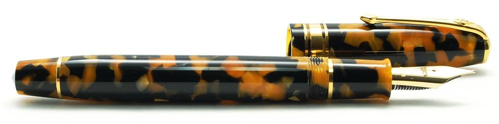 "Of all the Conway Stewart pens that Vanness has in stock, this  ""Honey Noire"" pen  might be my favorite!"