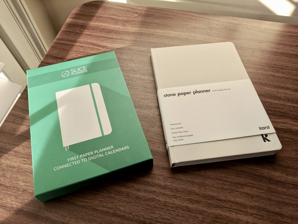 I'm giving away both of these planners this week.  Full details here.