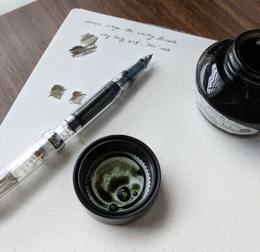 "The Wing Sung 618 Clear Demonstrator has become one of my favorite daily knockaround pens that sees a lot of work at the office. The Wing Sung 601 ""Vacumatic"" filler has also seen some use, but I'm withholding final judgment on long-term reliability until I run through a few more fills."