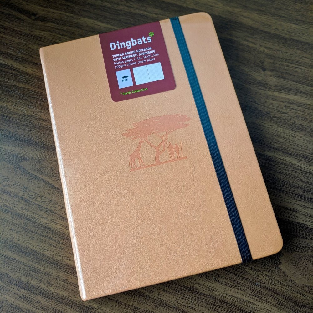 Dingbats*-Earth-A5-Notebook
