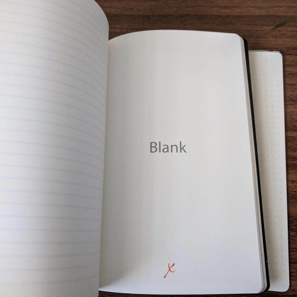 Stifflexible Blank Paper