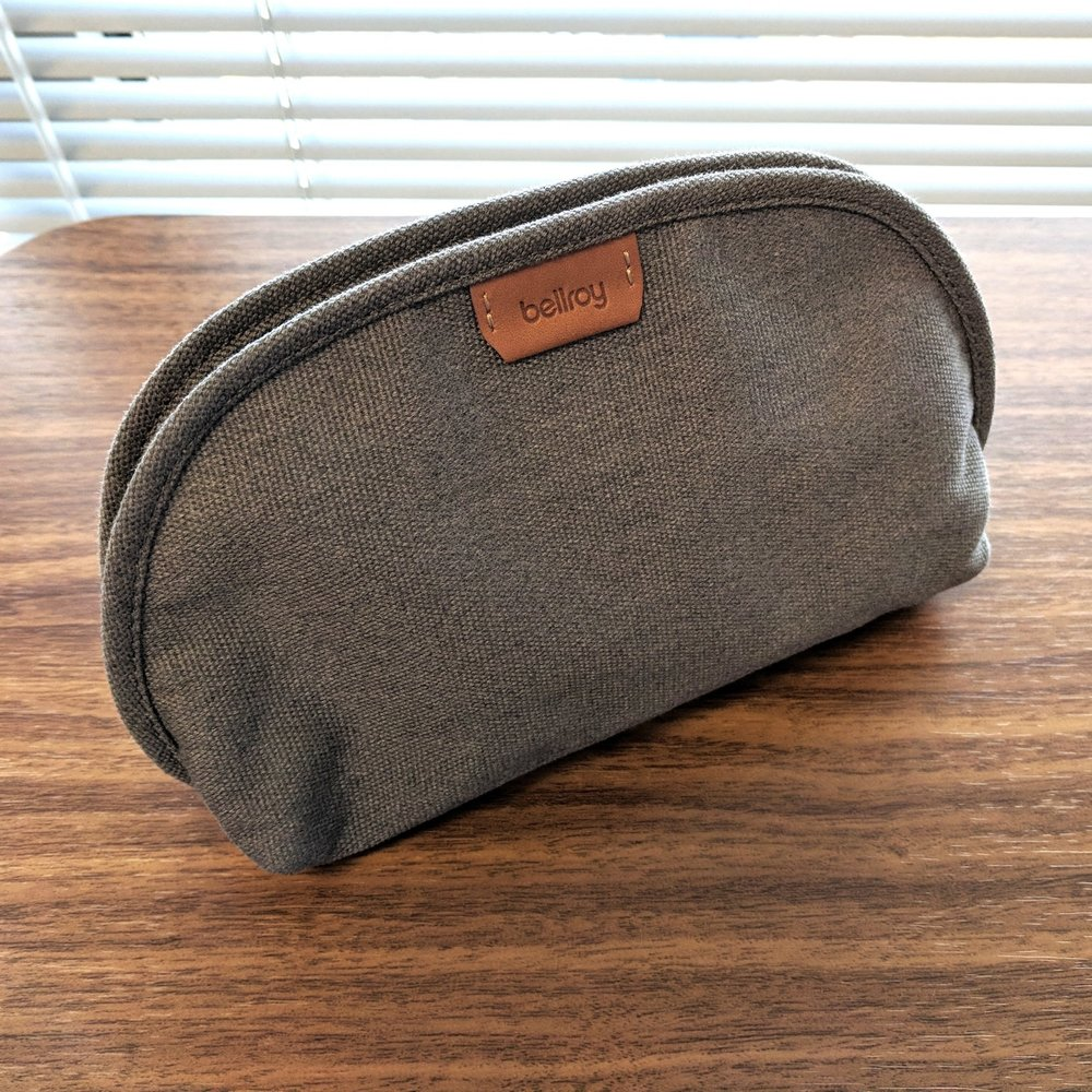 Bellroy-Classic-Pouch-Gray-Polyester