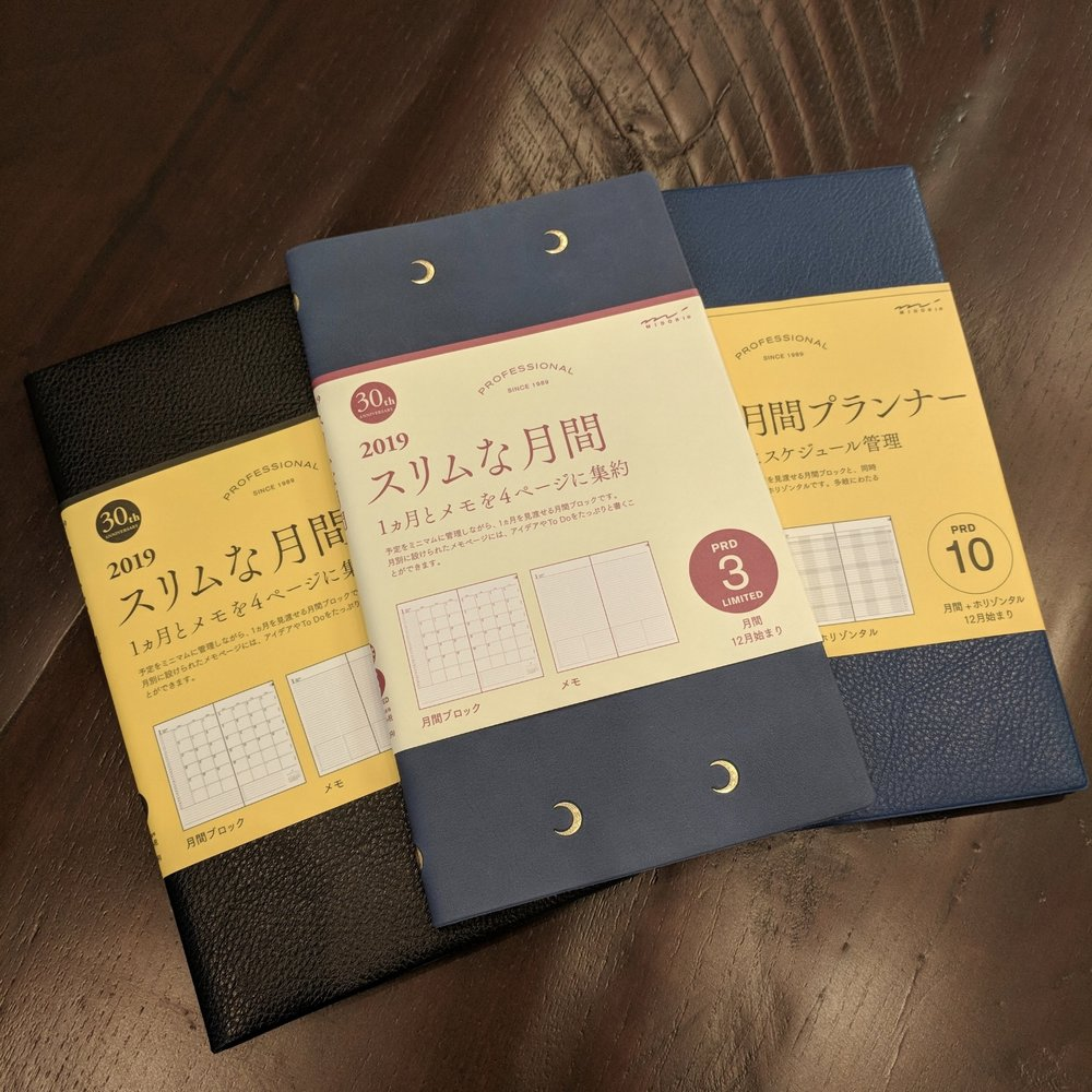 Midori Planners from Vanness! Link below.