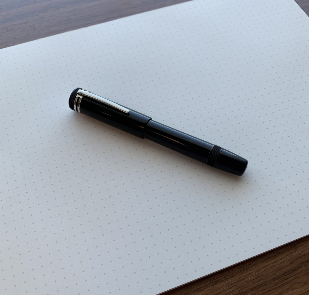 The Heritage 1912 is compact, which makes it a fun pen to carry for work, though you do have to mind where you set the cap because the pen doesn't post.