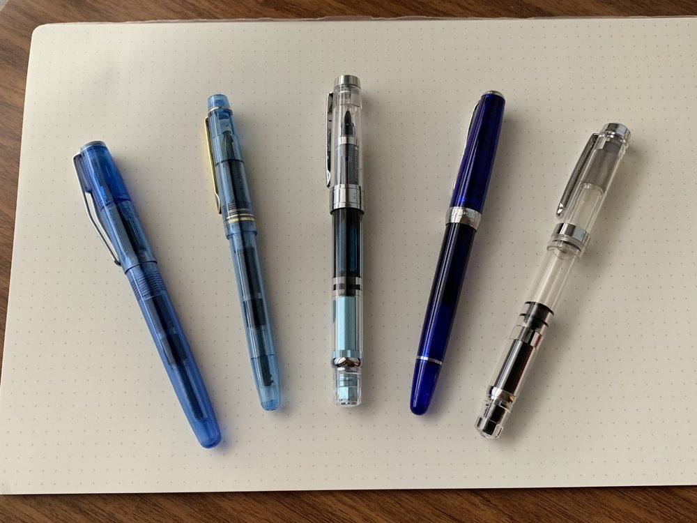 A few recommended inexpensive fountain pens. Check out this week's posts below!