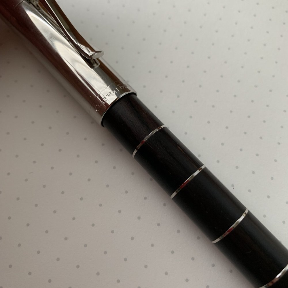 As with most pens made from wood, each Graf von Faber-Castell Classic and Classic Anello is going to show variations in the wood grain, making each pen unique.