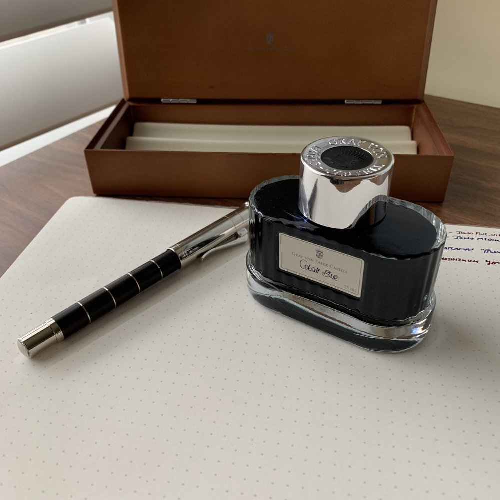 Did I mention that the packaging and presentation on GvFC products are top notch? A few more pictures are shown below, including the presentation box which doubles as a three-slot pen case.