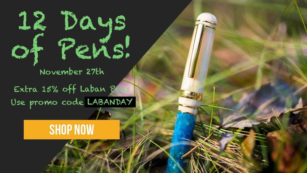 Goldspot-12-Days-Pens