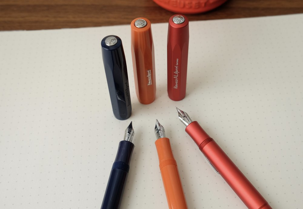When it comes to Kaweco, I accept that I'm going to have to trade reliability for a general lack of nib variety. For the best writing experience, the simple medium works best for me, and it's what I purchase in all of my Kaweco pens.
