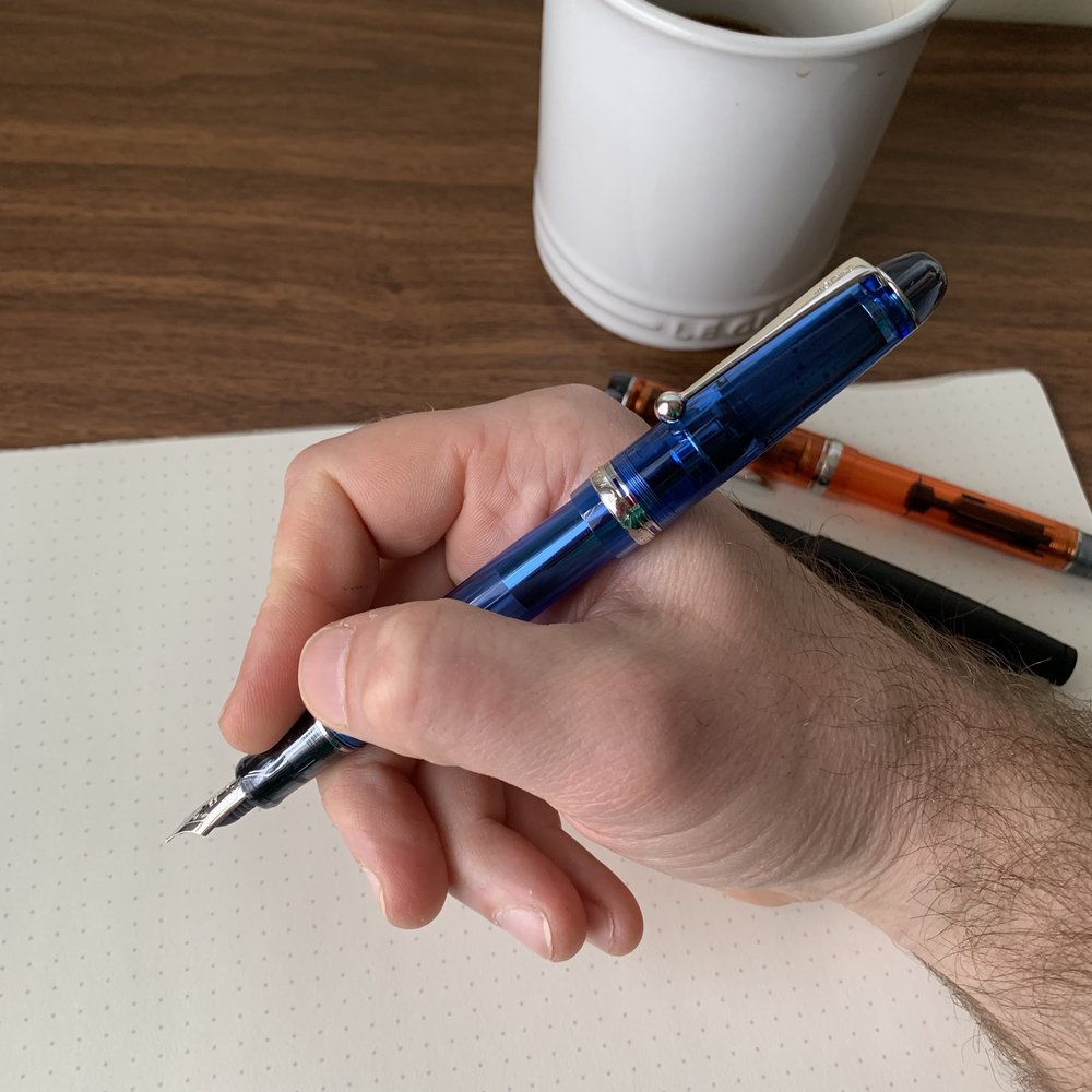 You can read my full write-up on the  Pilot Custom 74 here .