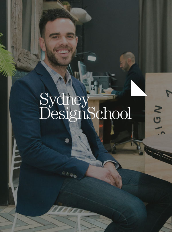 Sydney Design School - 'Take a look in to Adam's creative career'2016