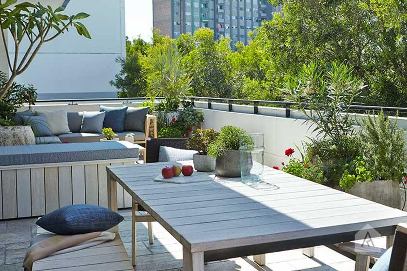 Rooftop Balcony Gardens Adam Robinson Design