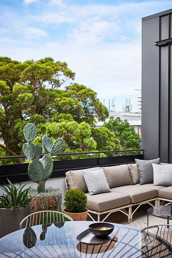 © Adam Robinson Design Sydney Outdoor Design Styling Rooftop Balcony Garden Waterloo 05.jpg