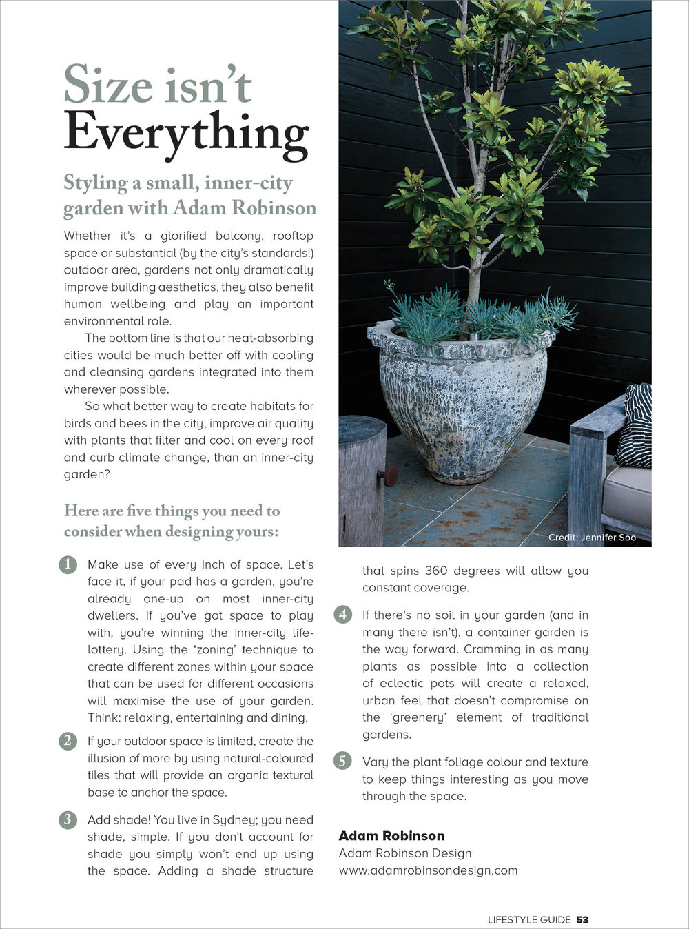 The Lifestyle Guide, Sept 2018