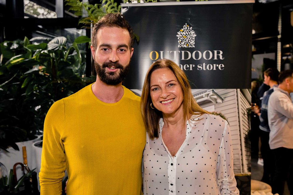 Matthew Shanahan and Denise Kingswell from Harbour Outdoor