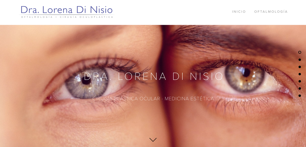 Plástica Ocular   · Medicina Estética  |  www.lorenadinisio.com
