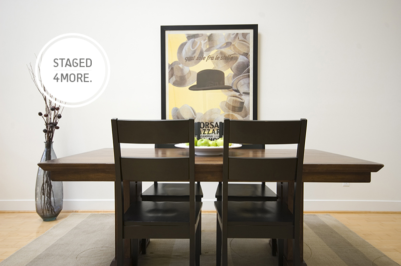 Vacant San Francisco Loft Staged by Staged4more Home Staging