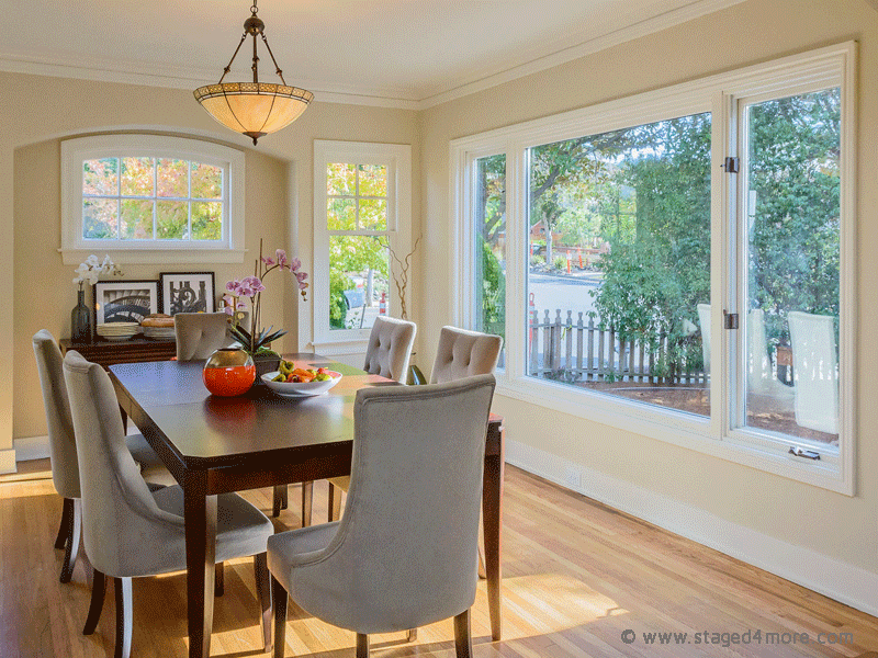 Burlingame Home Staging by Staged4more