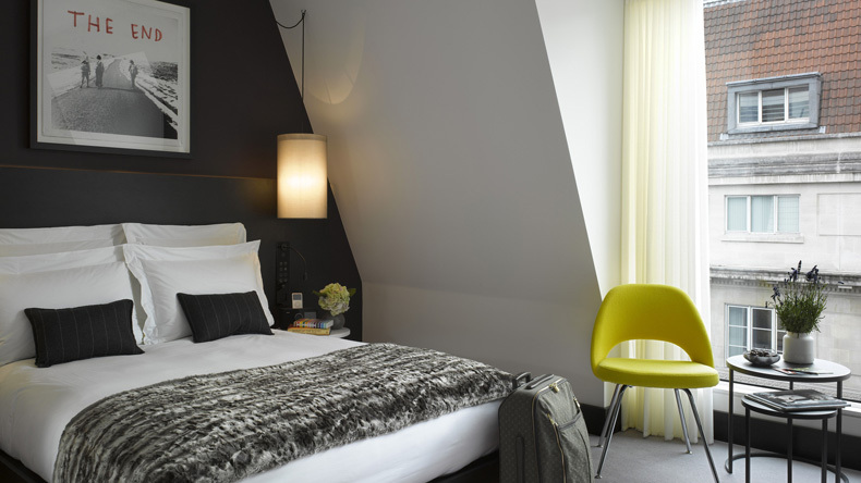 Contemporary interior / South Place Hotel, London