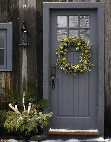 Homes: Yahoo | Make an Entrance: 10 Welcoming Front Door Paint Colors