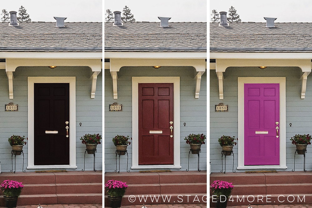 What Color Should I Paint My Front Door | Staged4more Home Staging & Design