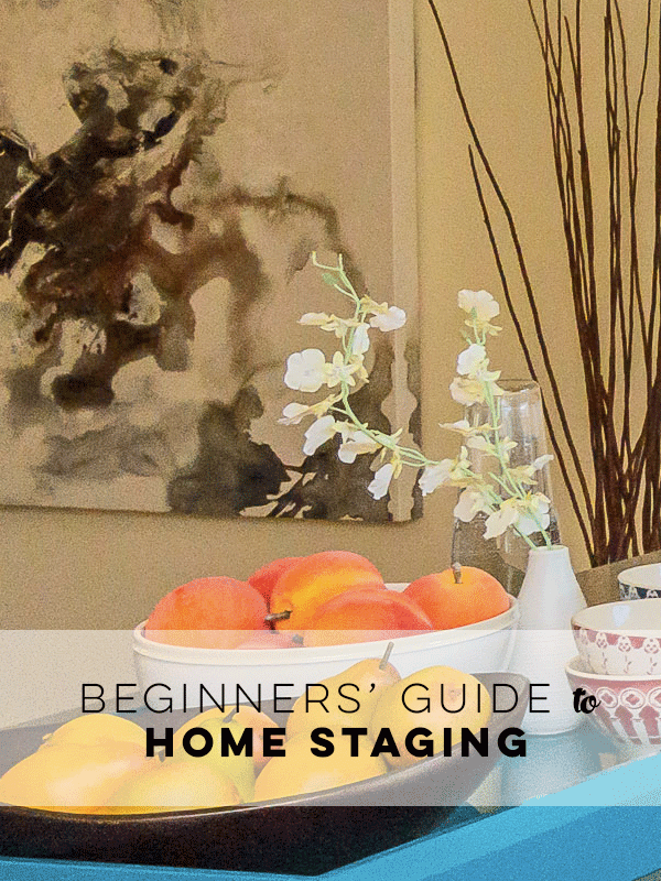 Beginners' Guide to Home Staging by Staged4more Home Staging & Design