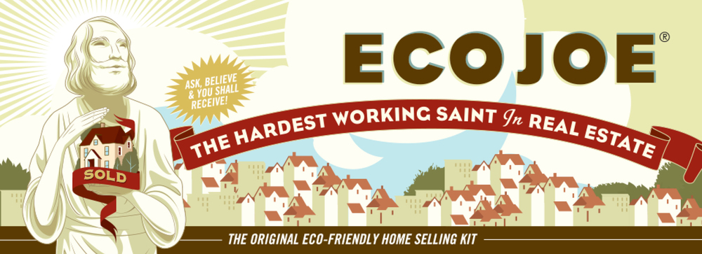 EcoJoe, the Original Eco-Friendly St Joseph Statue Home Selling Kit