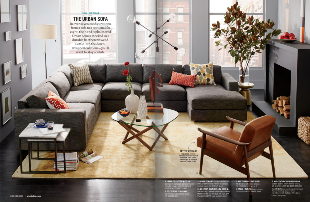5 Clever Styling Tricks to Steal from West Elm Catalogs | Staged4more Home Staging & Design