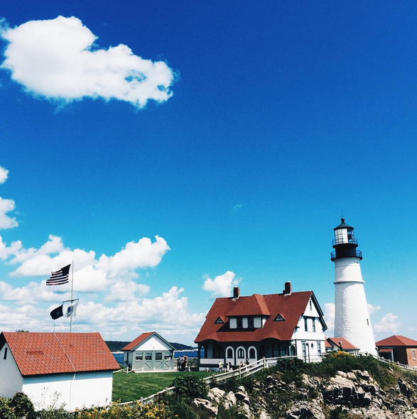 Isn't Maine gorgeous? We took a little field trip to Cape Elizabeth Lighthouse on the last day.