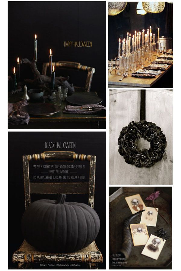 Gothic Halloween // How to Do A Spooktastic and Elegant Halloween Dinner Party // Staged4more Home Staging & Design