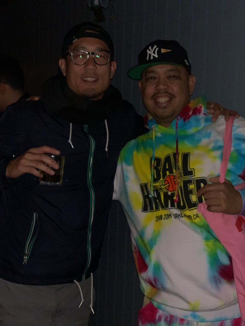 Steve Kim & Dustin Canalin at BALL HARDER LAUNCH