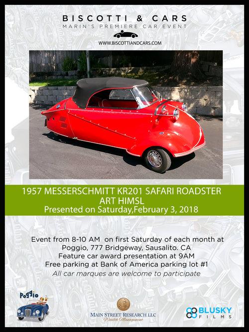 1957 messserschmitt kr201 safari roadster