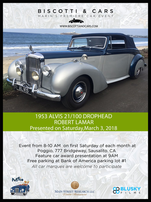 1953 alvis tc 21100 convertible