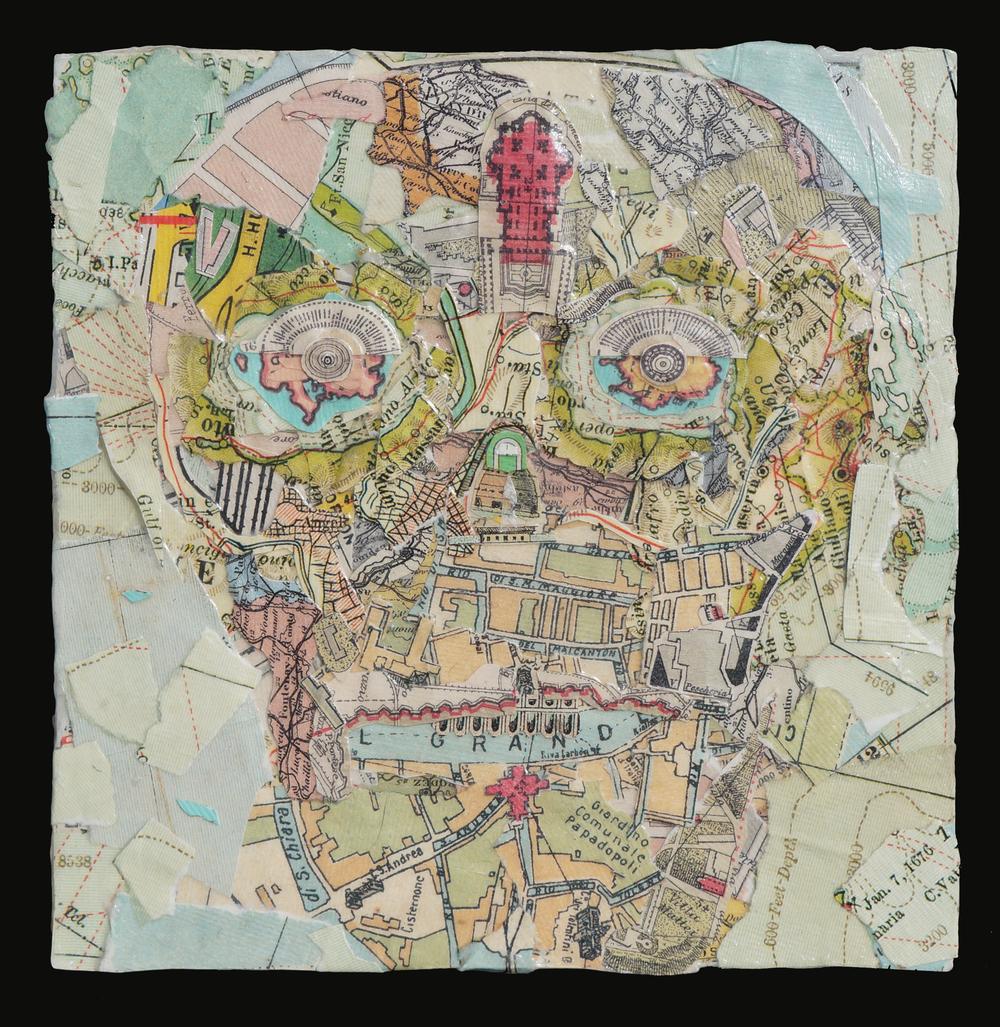 Square Map Skull