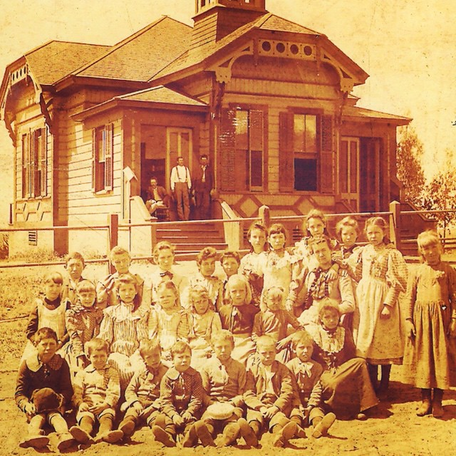 Created around 1887, the first schoolhouse in the area now known as Beverly Hills was called the Coldwater school.