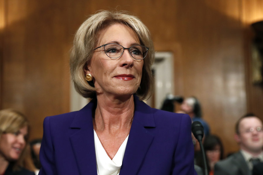 Not Quite a Response to Betsy DeVos - Ed Blog pt. I